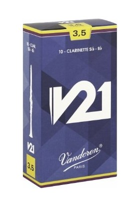 Vandoren Cr8035 10'Lu Paket V21 Bb No:3,5 Klarnet Kamışı -