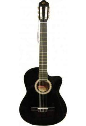Garcıa Lc 3901 Cbk Siyah Kesik Kasa Klasik Gitar -