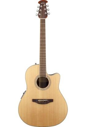 Ovation Cs24-4 Celebrity Cutaway Natural Elektro Akustik Gitar -