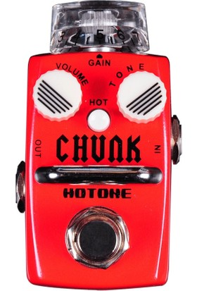 Hotone Chunk Sds-1 Single Footswitch Analog Crunch Distortion Pedal -