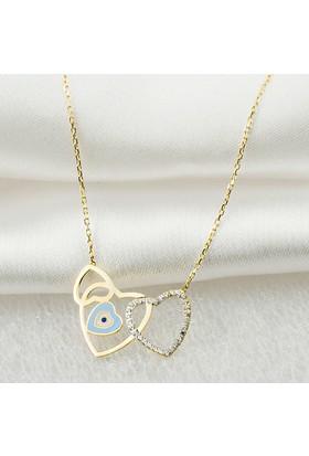 Jival Jewellery Kalpler 14 Ayar Altın Kolye