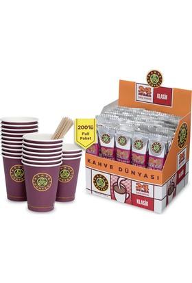 Kahve Dünyası 2'Si 1 Arada 200'Lu Full Paket