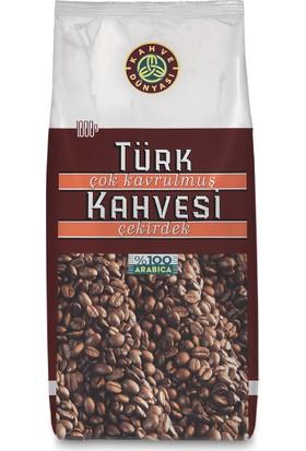 Kahve Dünyası Çok Kavrulmuş Türk Kahvesi Çekirdek 1Kg