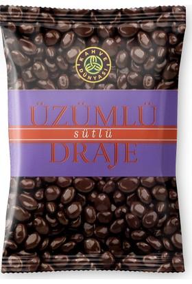 Kahve Dünyası Sütlü Çikolatalı Üzümlü Draje 200Gr