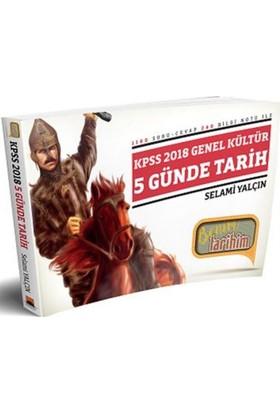 Benim Hocam Yayınları 2018 Kpss 5 Günde Tarih Soru-Cevap Kitabı
