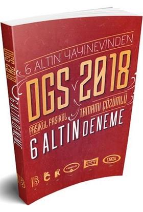 Benim Hocam Yayınları 2018 Dgs Tamamı Çözümlü 6 Altın Deneme