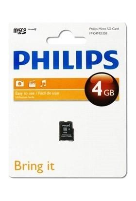 Philips Fm04md35b/97 4 Gb Class4 Micro Sd Kart Bellek Kutulu