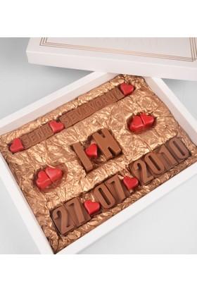 Tatlistan Kişiye Özel Aşk Çikolatası III