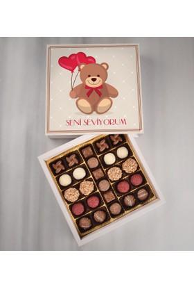 Tatlistan Seni Seviyorum Çikolatası
