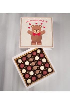 Tatlistan Seni Kocaman Seviyorum Çikolatası