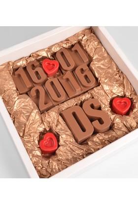 Tatlistan Kişiye Özel Aşk Çikolatası VI