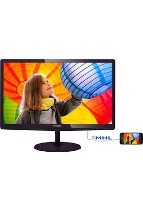 Philips 227E6LDSD/01 21.5'' 1ms (Analog+DVI-D+MHL-HDMI) Full HD Led Monitör