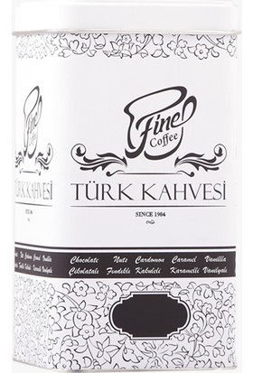 Fine Coffee Türk Kahvesi 200 Gr Teneke Kutu