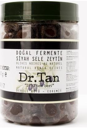 Dr. Tan Doğal Fermente Siyah Sele Zeytin Premium 800 Gr