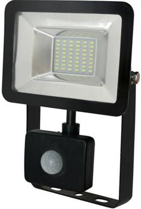 Horoz 20 Watt Sensörlü Smd Led Projektör Beyaz Işık IP65 20W