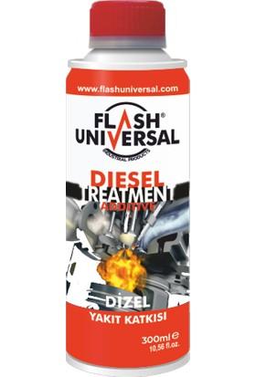 Flash Universal Dizel Motor Yakıt Katkısı - 300 Ml