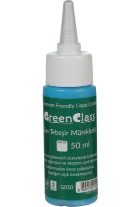 Green Class Sarı Sıvı Tebeşir Mürekkebi 50 Ml