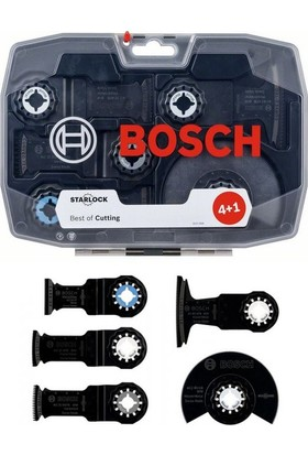 Bosch Starlock Ahşap Metal Segman Testere Seti