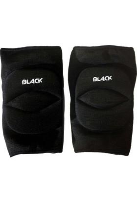 Black 056 Siyah Yetişkin Voleybol Dizliği