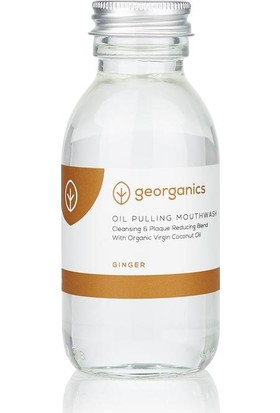 Georganics Hindistan Cevizi Yağı Formüllü Gargara/ Zencefil 100 Ml
