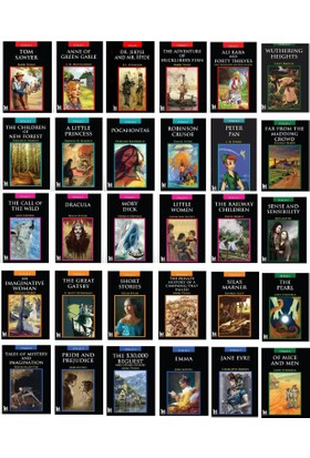 İngilizce Hikayeler 30 Kitap Set (Stage 1-2-3-4-5-6)