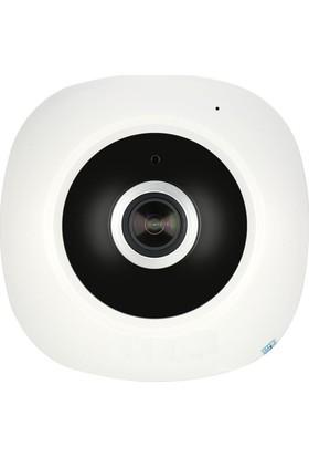 Mastek Panoramik 360 Derece Tavan Ip Kamera Wifi 1.3MP CCTV