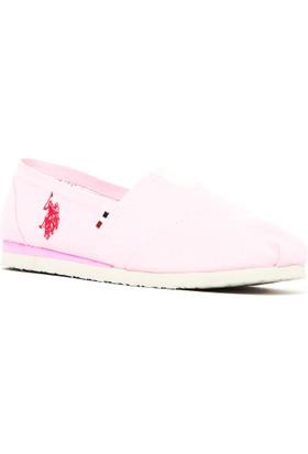 U.S. Polo Assn. Y7Huff Ayakkabı Pembe