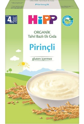 HiPP Organik Pirinçli Tahil Bazli 200 gr.