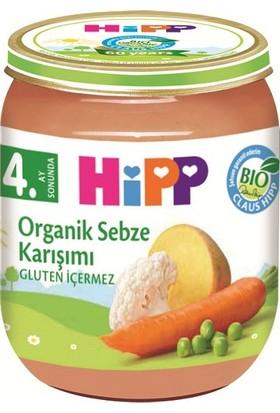 HiPP Organik Sebze Karişimi Kavanoz 125 gr.