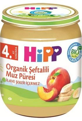 HiPP Organik Şeftalili Muz Püresi 125 gr.