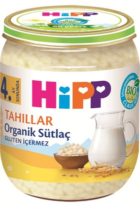 HiPP Organik Sütlaç Kavanoz 125 gr.