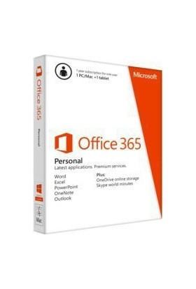Microsoft Office 365 Bireysel 32/64Bit Turkce Kutu 1 Yıl Qq2-00521