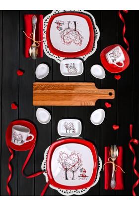 Keramika 15 Parça 2 Kişilik Kahvaltı Takımı Dream Of Keramira