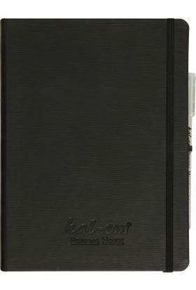 Kal-em Printing House Siyah Ajanda & Beyaz Kalem Set