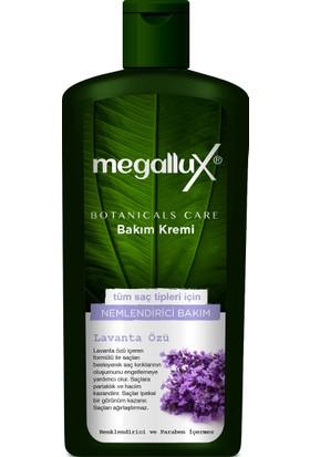 Megallux Botanicals Care Tüm Saç Tipleri İçin Nemlendirici Saç Bakım Kremi 500 Ml Lavanta Özlü