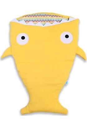 Weego Shark Uyku Tulumu Battaniye Sarı