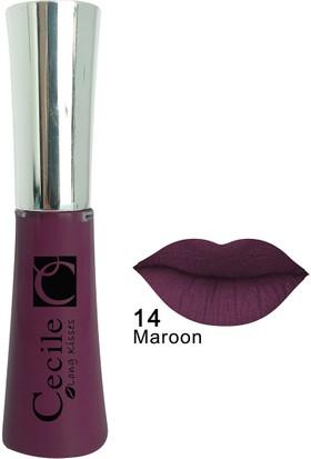 Cecile Kalıcı Mat Ruj / Long Kisses Lipgloss 14