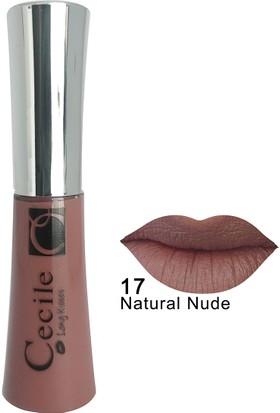 Cecile Kalıcı Mat Ruj / Long Kisses Lipgloss 17