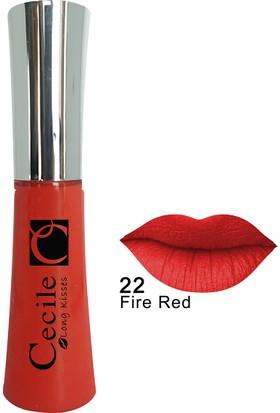 Cecile Kalıcı Mat Ruj / Long Kisses Lipgloss 22