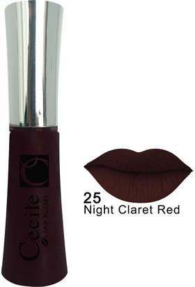 Cecile Kalıcı Mat Ruj / Long Kisses Lipgloss 25