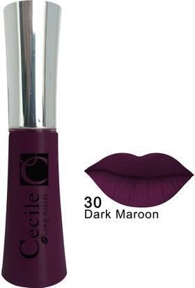 Cecile Kalıcı Mat Ruj / Long Kisses Lipgloss 30