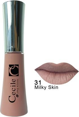 Cecile Kalıcı Mat Ruj / Long Kisses Lipgloss 31