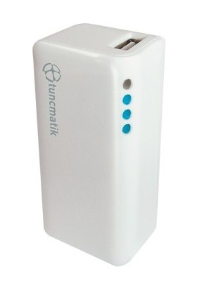 Tunçmatik TSK5060 Mini 2000 mAh Beyaz Taşınabilir Şarj Cihazı