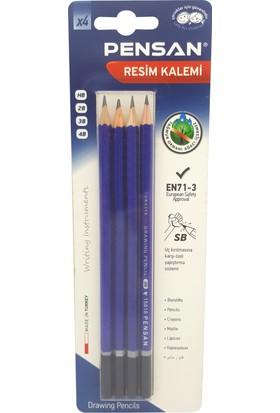 Pensan Dereceli Kalem Hb/2B/3B/4B 4 Lü Bls.15010