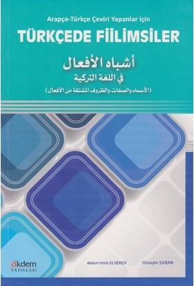 Arapça-Türkçe Çeviri Yapanlar İçin Türkçede Fiilimsiler