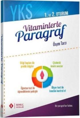 Sonuç Yks Vitaminlerle Paragraf 1. Ve 2. Oturum