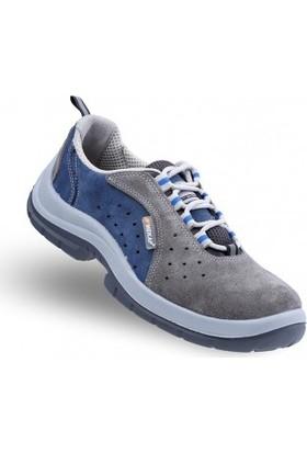 Mekap ATP 20 Süet Çelik Burunlu İş Ayakkabısı 42