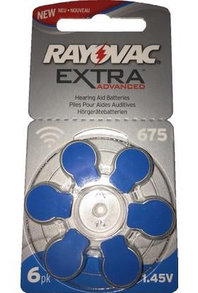 Rayovac Extra 675 Kulaklık Pili 1.45V