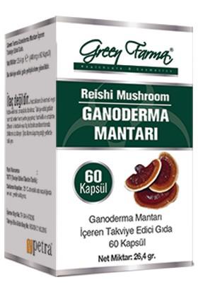 Green Farma Ganoderma Mantarı 60 Kapsül