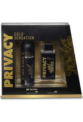 Privacy Gold Sensation Man Edt 100 Ml
